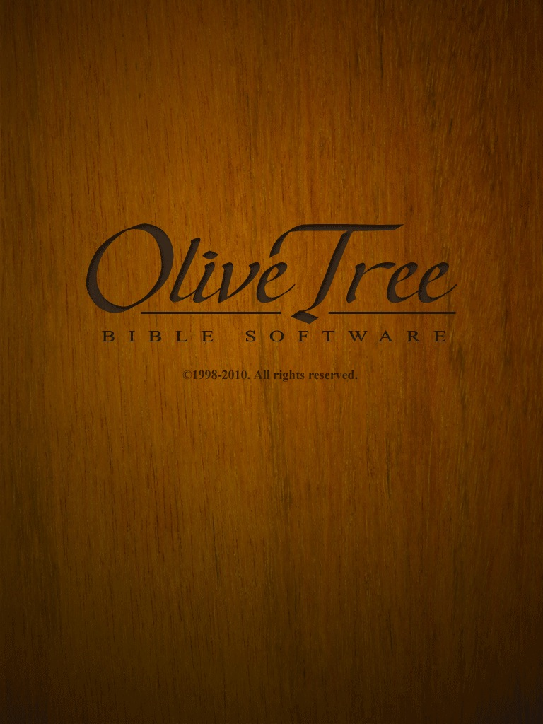 how to use olive tree bible study app
